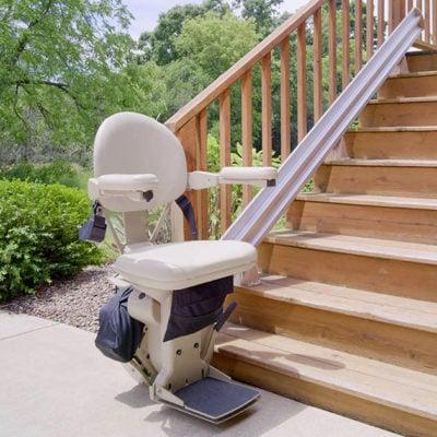 Monte-escalier extérieur Bruno