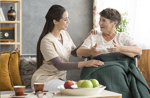 Définition des services et soins à domicile