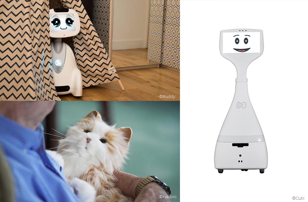 robots pour personnes âgées
