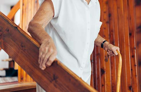 Adapter son entrée et son escalier pour le maintien à domicile