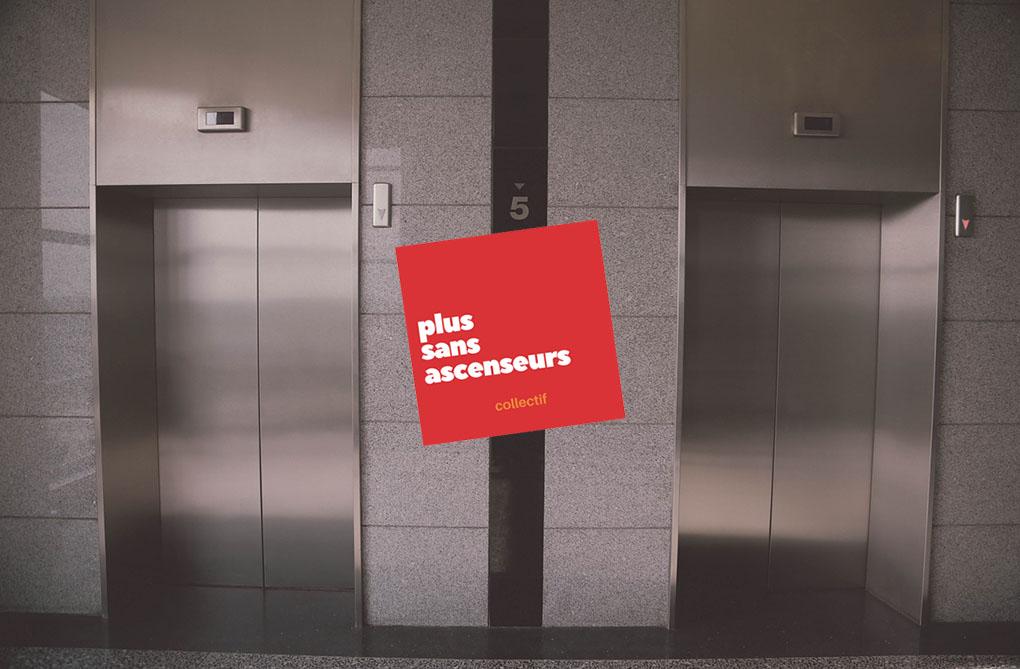monte-escalier panne ascenseur
