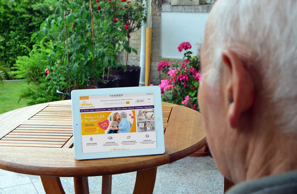 senior et e commerce comportement d'achat en ligne