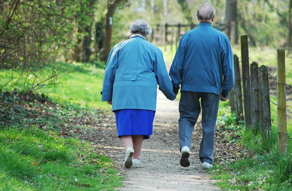 couple de seniors - retraite réindexaxion csg