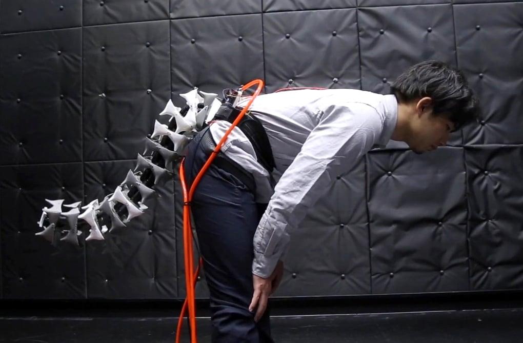 Une queue robotisée pour prévenir les chutes