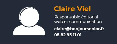fiche contact Claire responsable éditorial web et communication