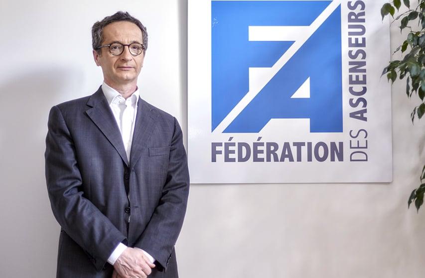 Alain Meslier, Délégué général de la Fédération des Ascenseurs
