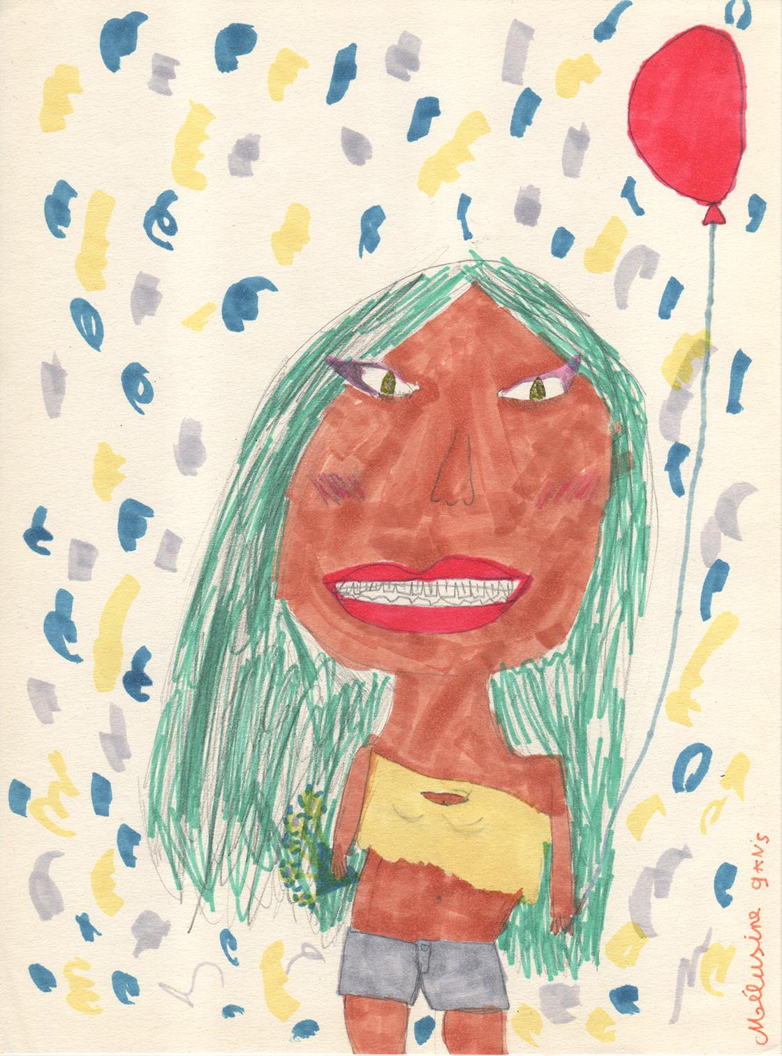 Ballon et confettis : c'est la fête !