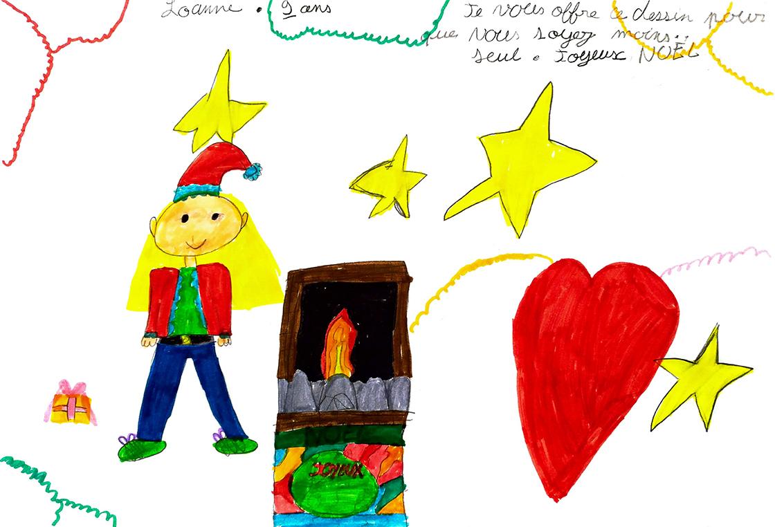 Un dessin pour Noël