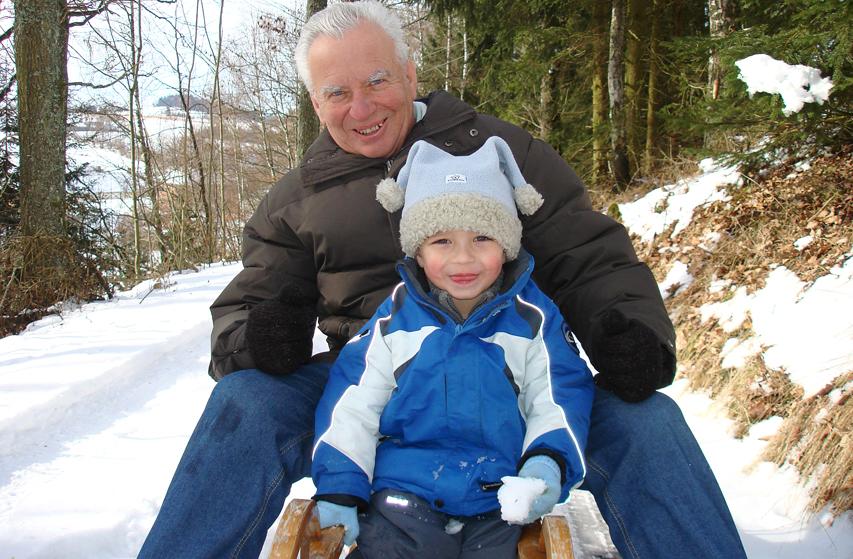 Partager des activités avec ses petits-enfants