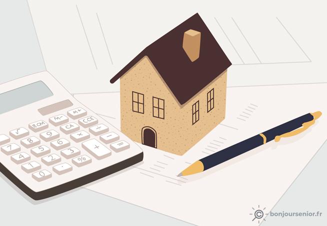 Illustration de rachat de crédits hypothécaire