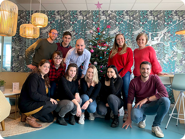Photo équipe Bonjoursenior janvier 2021