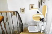 Etude géographie du monte-escalier