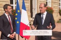 Jean Castex et Olivier Véran à Autun